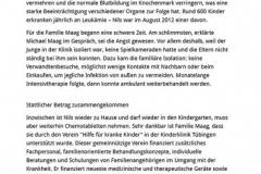 Schwarzwälder Bote, Vorbericht Benefiz 2014